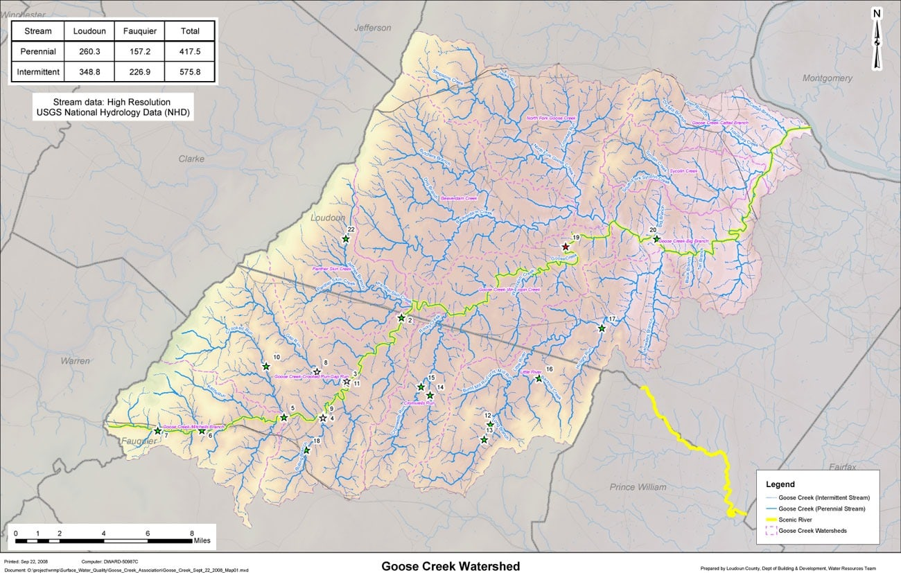 Watershed Maps Goose Creek Association
