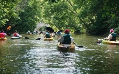 Goose Creek Canoe Clean Up Day - April 27th @ Church of Our Saviour Oatlands