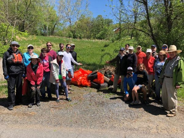 Goose Creek Canoe Cleanup Day